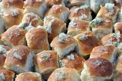 Traditional simple ukrainian food - ukrainian pampushki Royalty Free Stock Photos