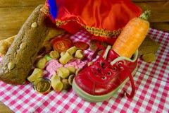 Traditional Sinterklaas candy Stock Image