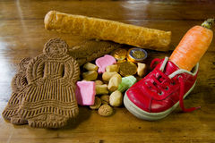 Traditional Sinterklaas candy Royalty Free Stock Images