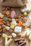 Traditional Sinterklaas candy Stock Photo