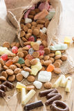 Traditional Sinterklaas candy Royalty Free Stock Photo