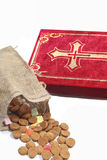 Traditional Sinterklaas items royalty free stock images