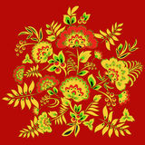Traditional slavs pattern.  illustration Royalty Free Stock Photography