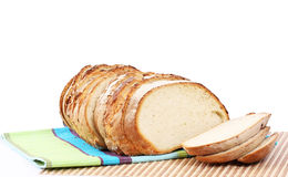 Traditional sliced bread Stock Image