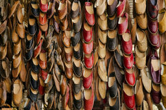 Traditional slippers in souk of cairo egypt Royalty Free Stock Photography