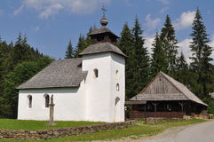 Traditional slovak church Royalty Free Stock Images