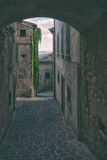 Traditional small Italian town Stock Image