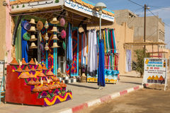 Traditional small store in Merzouga Royalty Free Stock Images