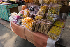 Traditional snack on sale in traditional market photo taken in Bogor Indonesia Stock Image
