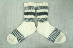Traditional socks Stock Images