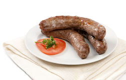Traditional South African Boerewors Royalty Free Stock Photos
