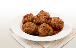 Traditional South African Meatball Chutney Royalty Free Stock Images