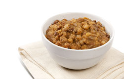 Traditional South African Samp And Beans Royalty Free Stock Photos