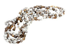 Traditional South African Zulu Beads Threaded into a Necklace Stock Photography