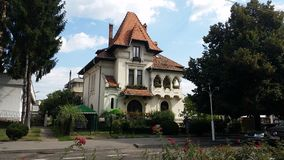 Traditional south romanian architecture Royalty Free Stock Photos