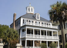 Traditional Southern Mansion Stock Photos