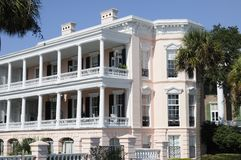 A Traditional Southern Mansion Royalty Free Stock Image