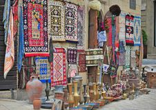 Traditional souvenir shop in Baku city. Azerbaijan Stock Photo