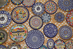 Traditional souvenirs in Granada, Andalusia, Spain Royalty Free Stock Photo