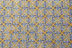 Traditional spanish ceramic tiles Royalty Free Stock Photo