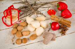 Traditional Spanish Christmas cookies Stock Photography