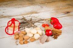 Traditional Spanish Christmas dessert Royalty Free Stock Image