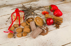 Traditional Spanish Christmas sweets Stock Photography