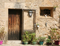 Traditional spanish dwelling Stock Photo