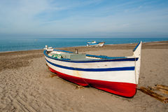 Traditional Spanish fishing boat Royalty Free Stock Photography