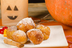 Traditional Spanish Halloween dessert Royalty Free Stock Image