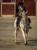 Traditional Spanish horse riding Royalty Free Stock Photos