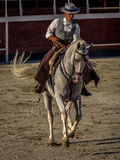 Traditional Spanish horse riding Stock Images