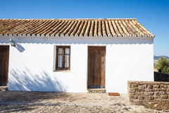 Traditional spanish house Royalty Free Stock Photo