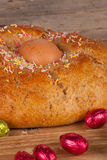 Traditional Spanish mona de Pascua detail Royalty Free Stock Photography