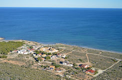 A traditional Spanish Seaside Settlement Stock Images