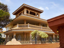 Traditional Spanish style house real estate Spain Royalty Free Stock Images