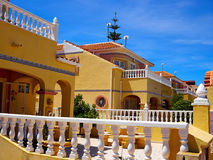 Traditional Spanish style house real estate Spain Stock Images