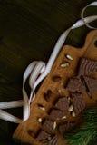 Traditional spanish sweet - turron Royalty Free Stock Image