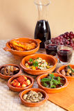 Traditional spanish tapas. Stock Photos
