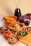 Traditional spanish tapas. Stock Photos
