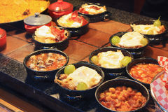 Traditional Spanish tapas Royalty Free Stock Image