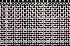 Traditional spanish tiles background Stock Images