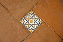 Traditional Spanish tiles Royalty Free Stock Image