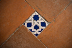 Traditional Spanish tiles Royalty Free Stock Photo