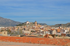 A Traditional Spanish Town Royalty Free Stock Images
