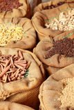 Traditional spices in local bazaar in India. Stock Images