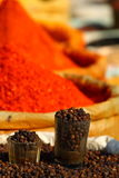 Traditional spices market Stock Images