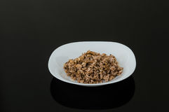 Traditional Spicy Food Pilaf, Seasoned Rice Stock Photo