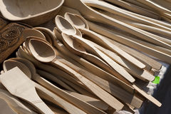 Traditional spoons Royalty Free Stock Images