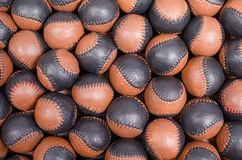Traditional sport balls Stock Photo